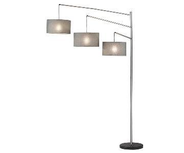 Adesso Wellington 3 Shades 7ft Floor Lamp
