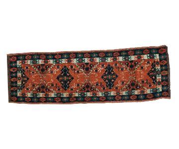 Vintage Afghan Tent Cover Rug Runner