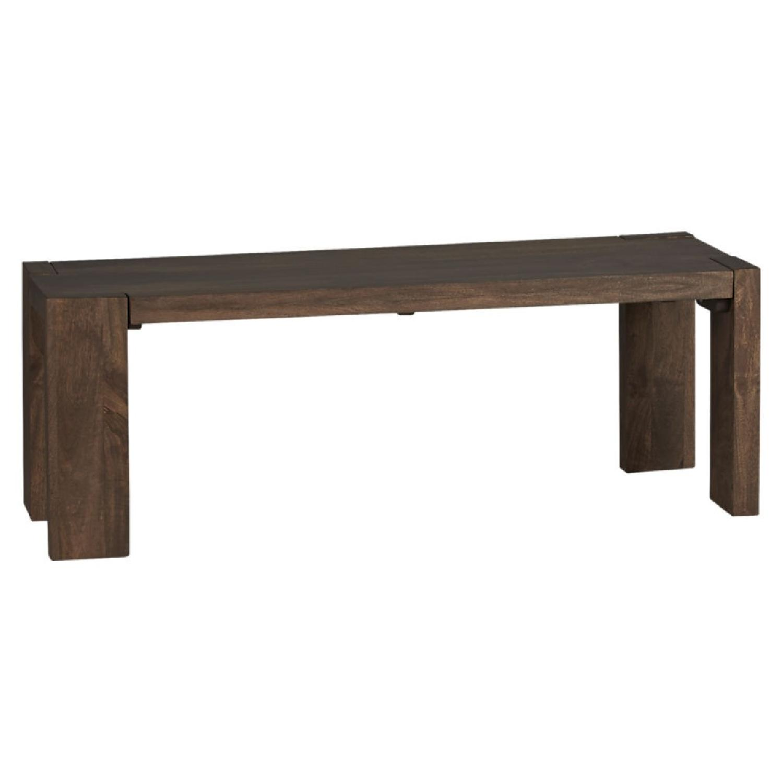 CB2 Blox Wood Bench ...