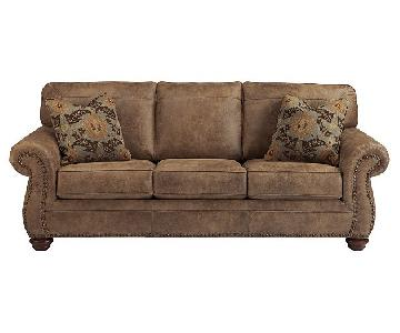 Ashley's Larkinhurst Sleeper Sofa in Earth