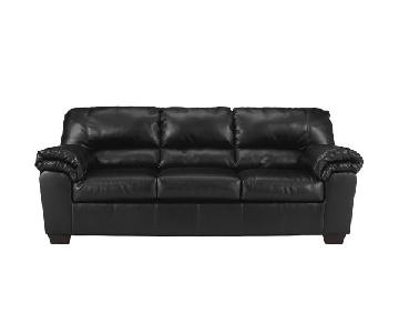 Ashley's Commando Sleeper Sofa in Black