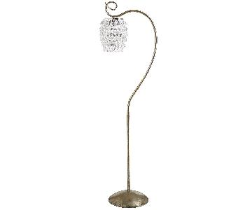 Pier 1 Swirls & Drops Floor Lamp