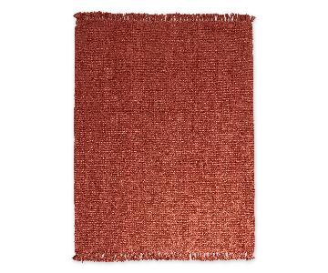 nuLOOM Handmade Natural Fiber Braided Rug in Terracotta