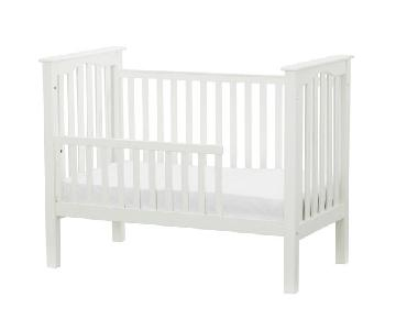 PB Kids Kendall Crib w/ Toddler Bed Conversion Kit