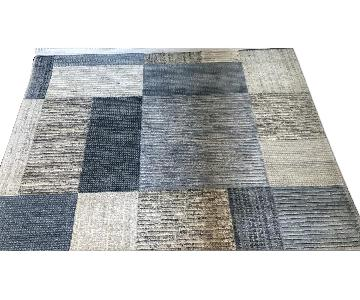 Macy's Modern Hand Knotted Area Rug