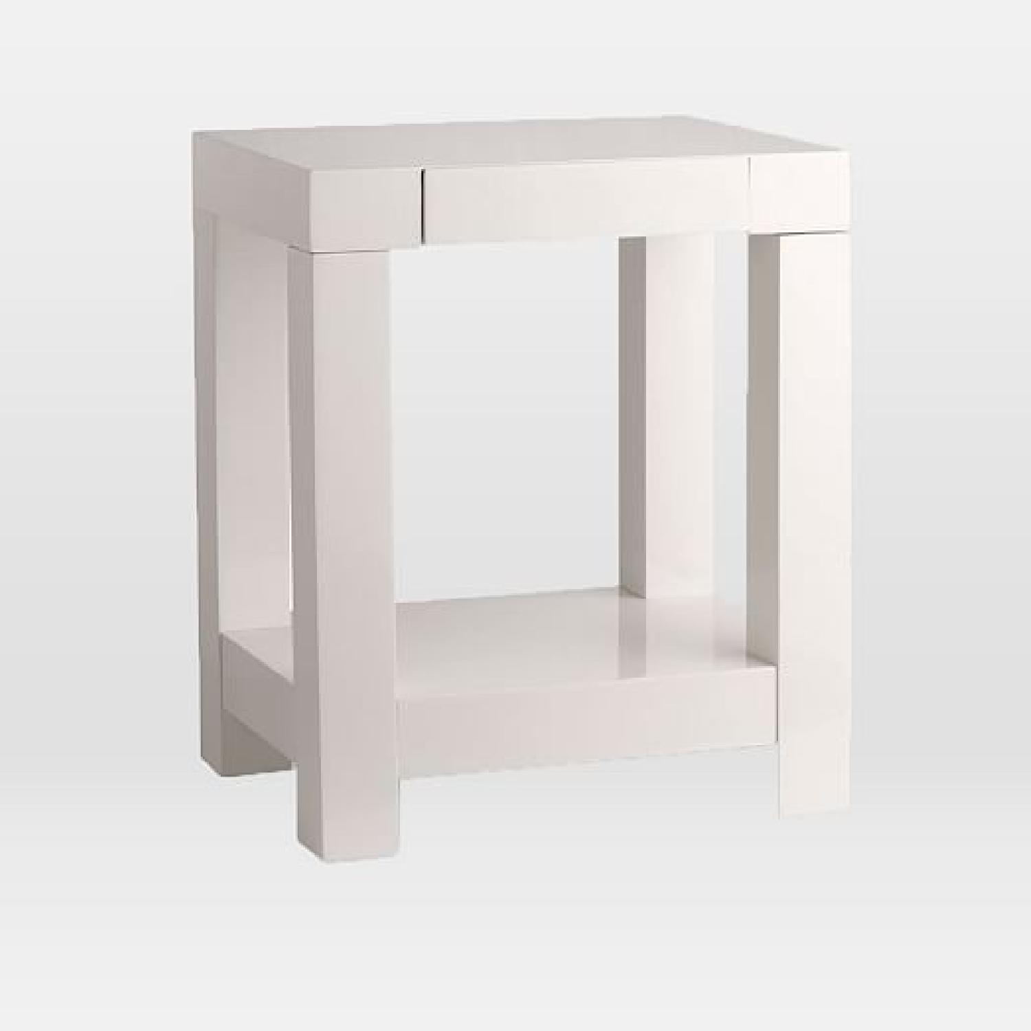 West Elm Parsons Side Table ...