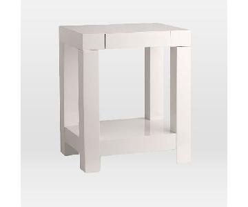 West Elm Parsons Side Table