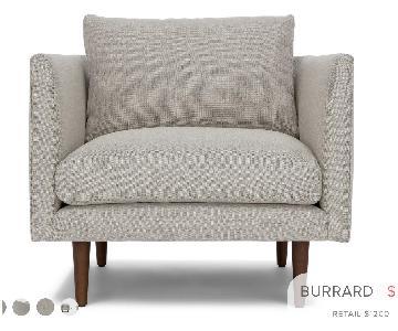 Article Burrard Mid-Century Modern Arm Chair
