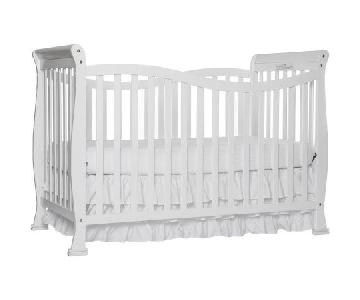 Dream On Me 7 in 1 Convertible Life Style Crib in White