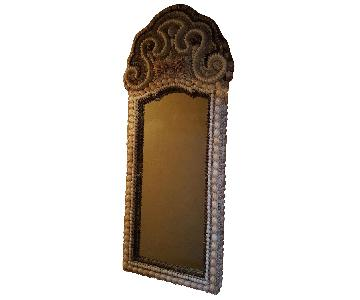 High Tide Collection Shell Encrusted Mirror