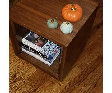 Crate & Barrel Modern Side Table