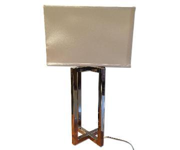 Crate & Barrel Living Room Table Lamp