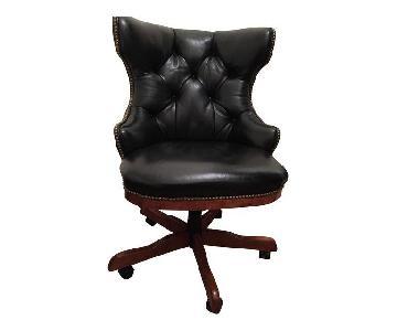 Century Furniture Leather Desk Chair