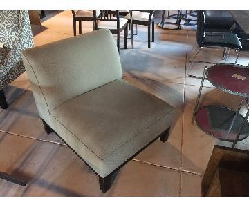 Crate & Barrel Slipper Chair