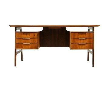 Gunni Omann Antique Mid-Century Modern Desk