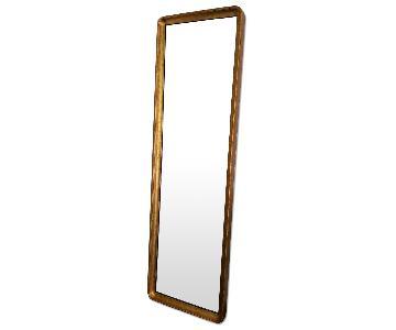 Restoration Hardware Salon Gilt Leaner Mirror