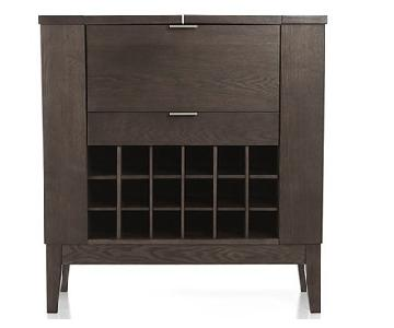 Crate & Barrel Parker Spirits Bar Cabinet