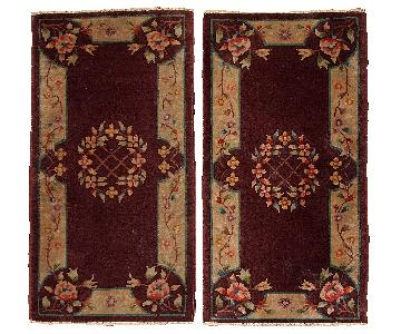 Antique 1920s Art Deco Chinese Rugs