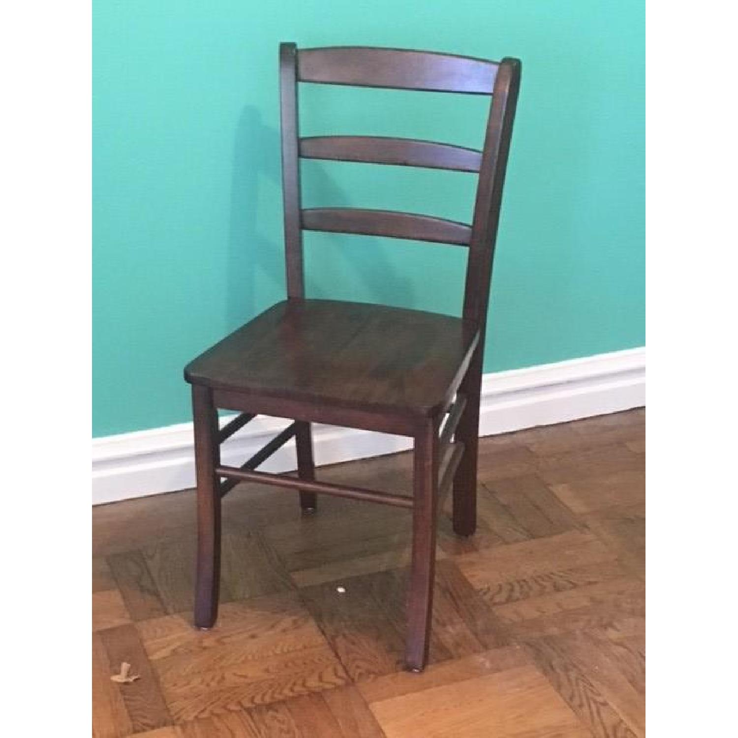 winsome wood ladder back dining chair aptdeco