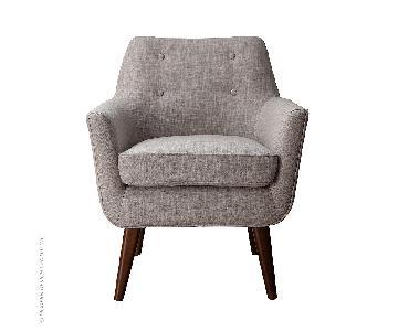 TOV Clyde Beige Linen Chair