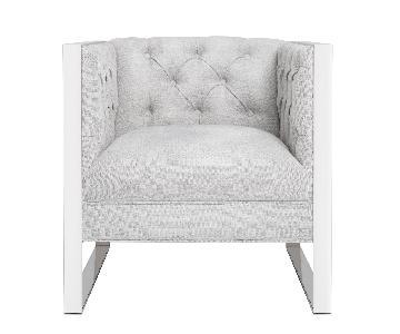 TOV Farah Light Grey Chair