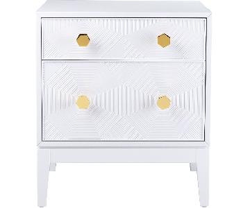 TOV Mila Lacquer Side Table