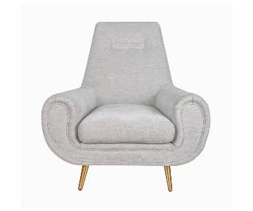 TOV Piper Light Grey Chair