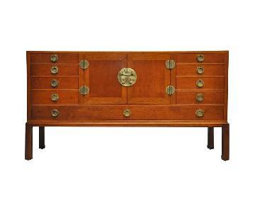 Dunbar Edward Wormley Walnut & Mahogany Sideboard
