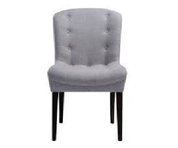 TOV Victor Beige Linen Chair