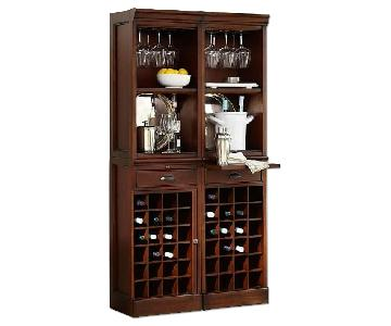 Pottery Barn Modular Bar w/ Wine Grid