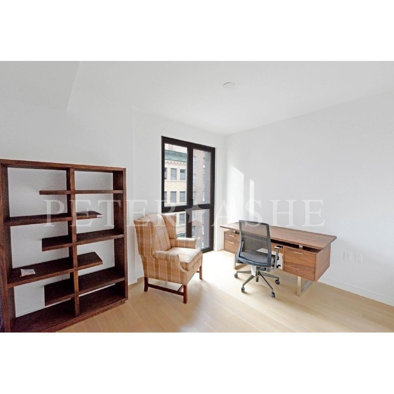 Crate & Barrel Elevate Walnut Bookcase-1