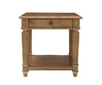 Raymour & Flanigan End Table w/ One Drawer
