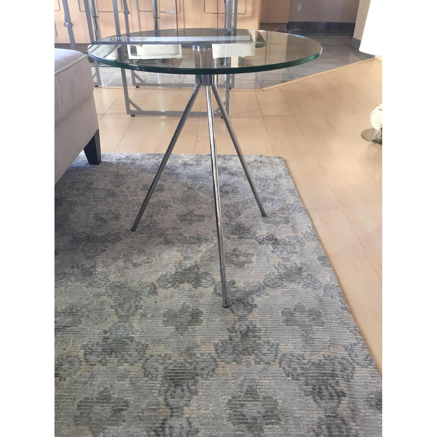 SitDown NY Glass Side Table - image-1
