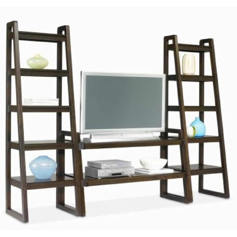 Macy's Media Storage Furniture Set/Bookshelves - image-1