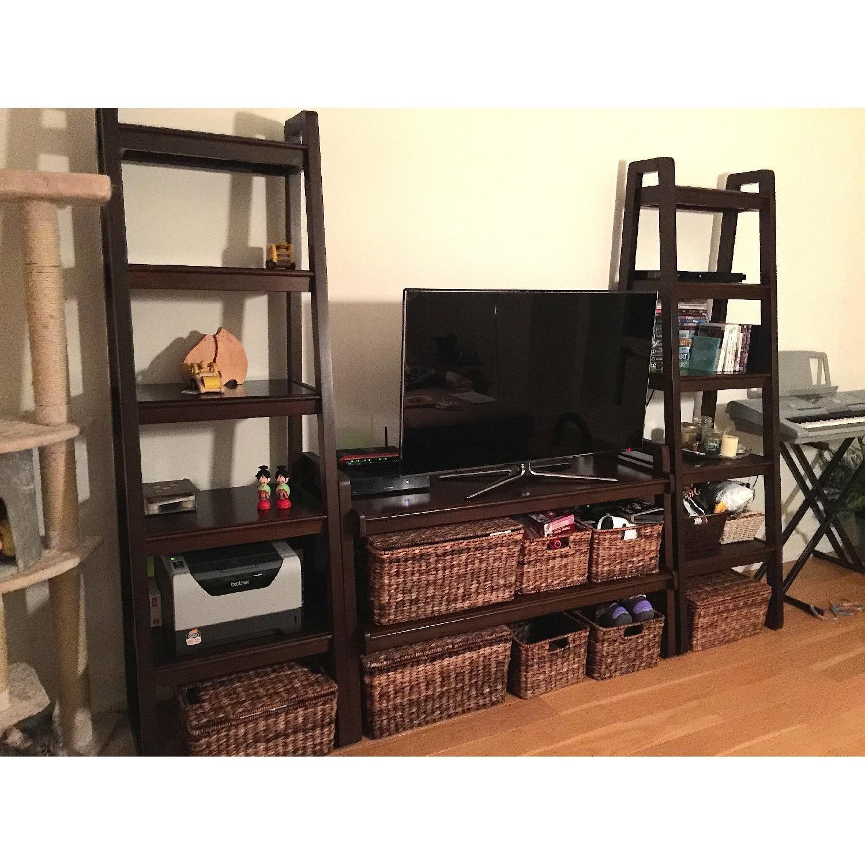 Macy's Media Storage Furniture Set/Bookshelves - image-2