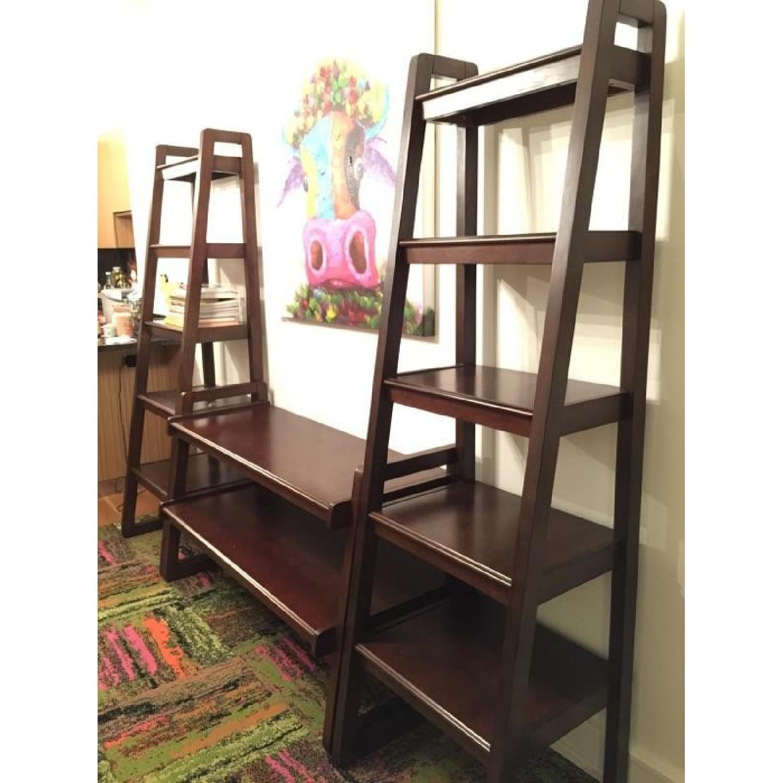 Macy's Media Storage Furniture Set/Bookshelves - image-3