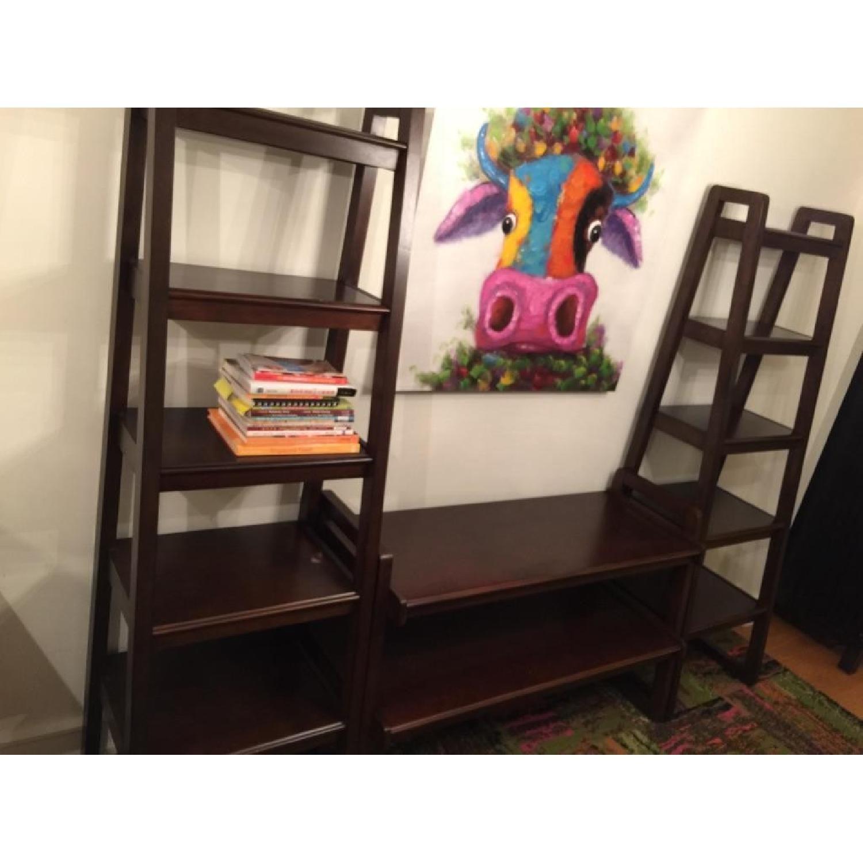 Macy's Media Storage Furniture Set/Bookshelves - image-4