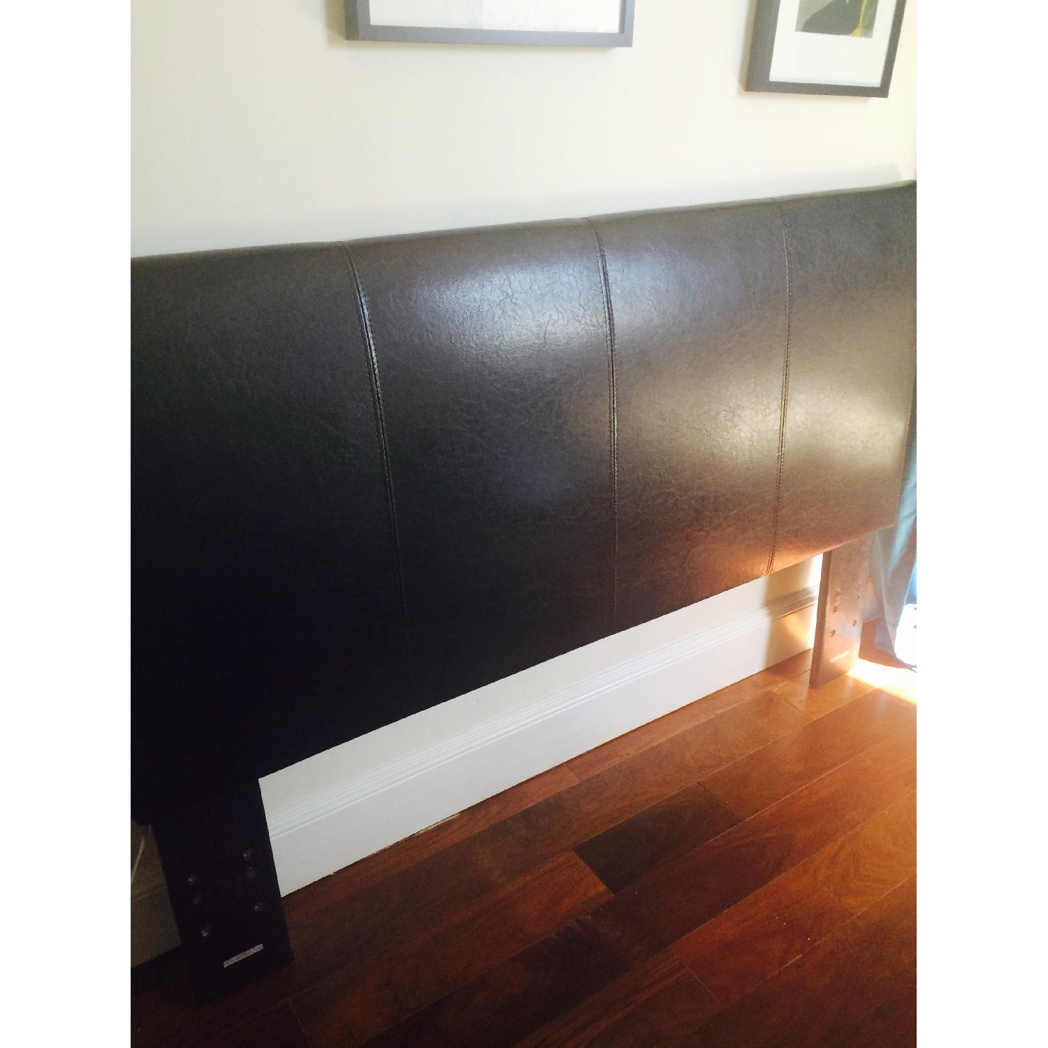 Faux Leather Headboard - image-2