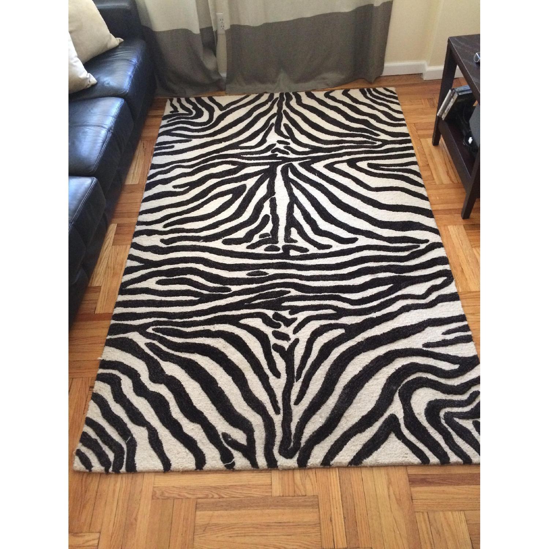 Zebra Rug - image-1