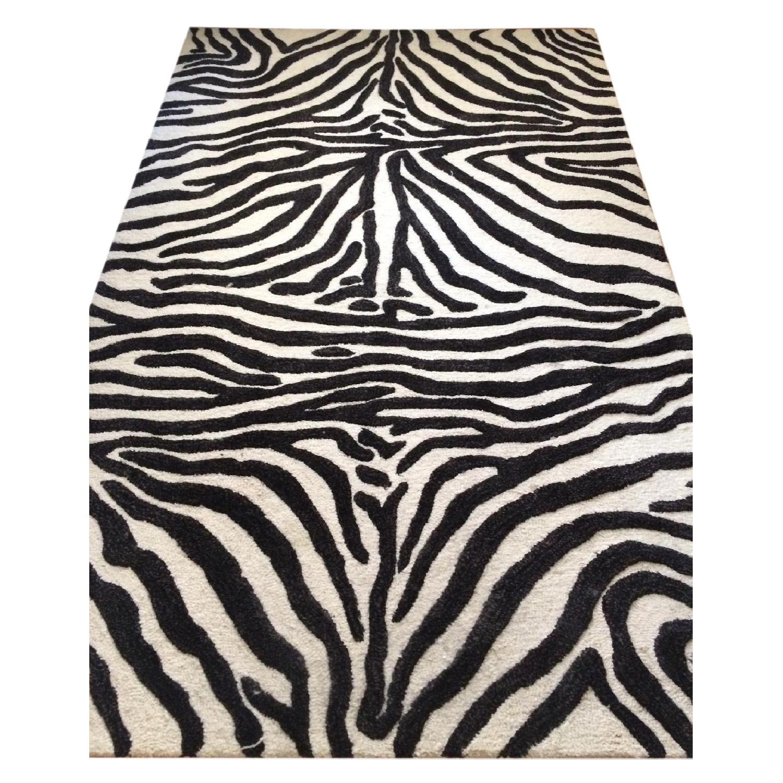 Zebra Rug - image-0