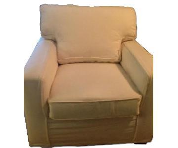 Pottery Barn Slipcovered Chair