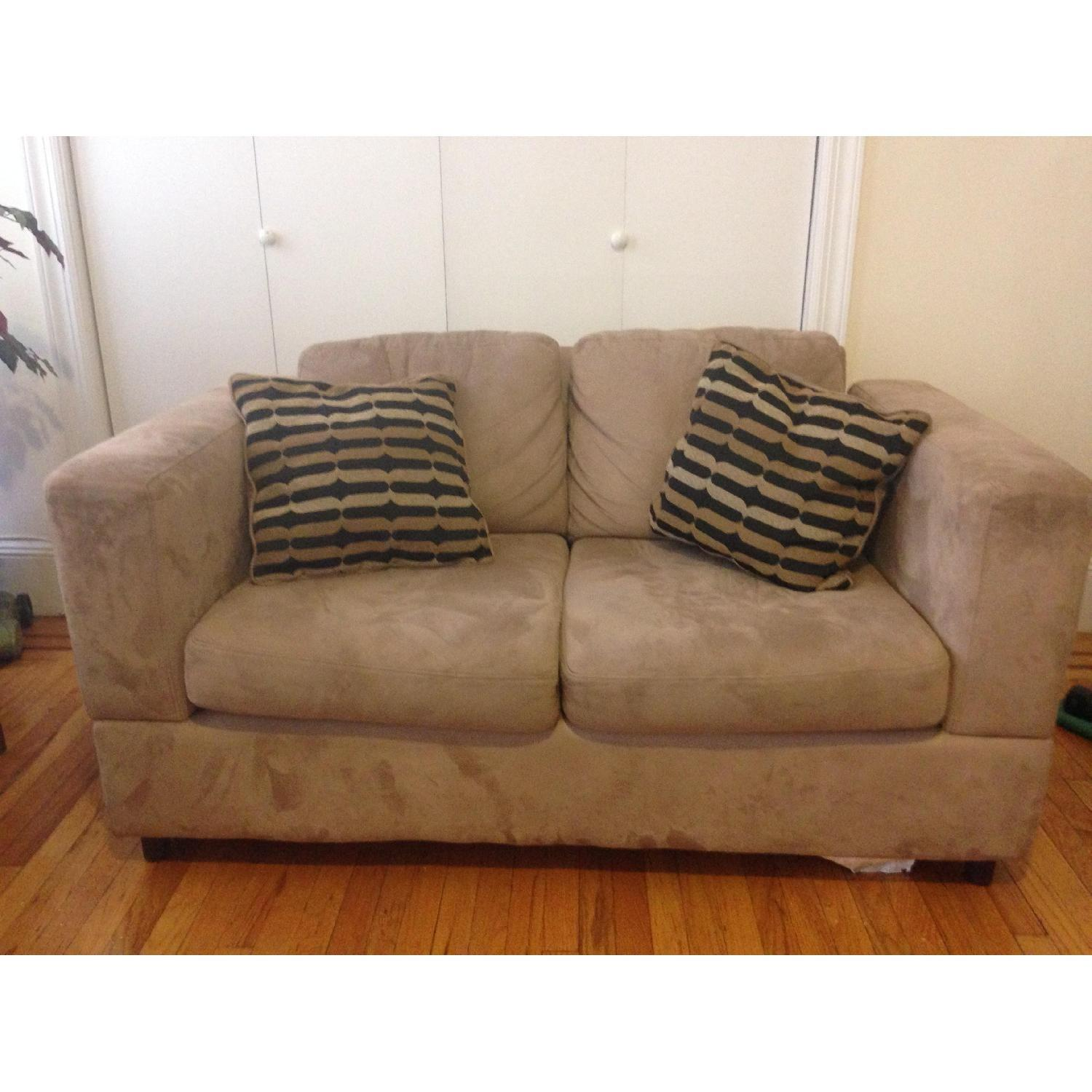 Jennifer Convertibles Loveseat - image-1