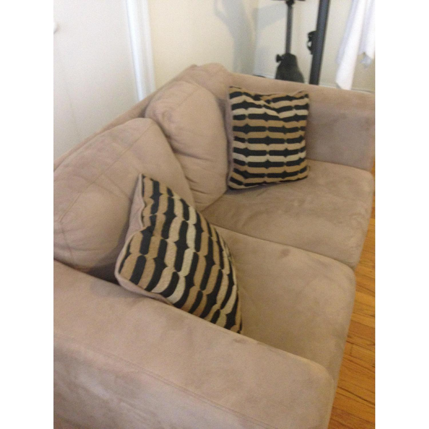 Jennifer Convertibles Loveseat - image-3