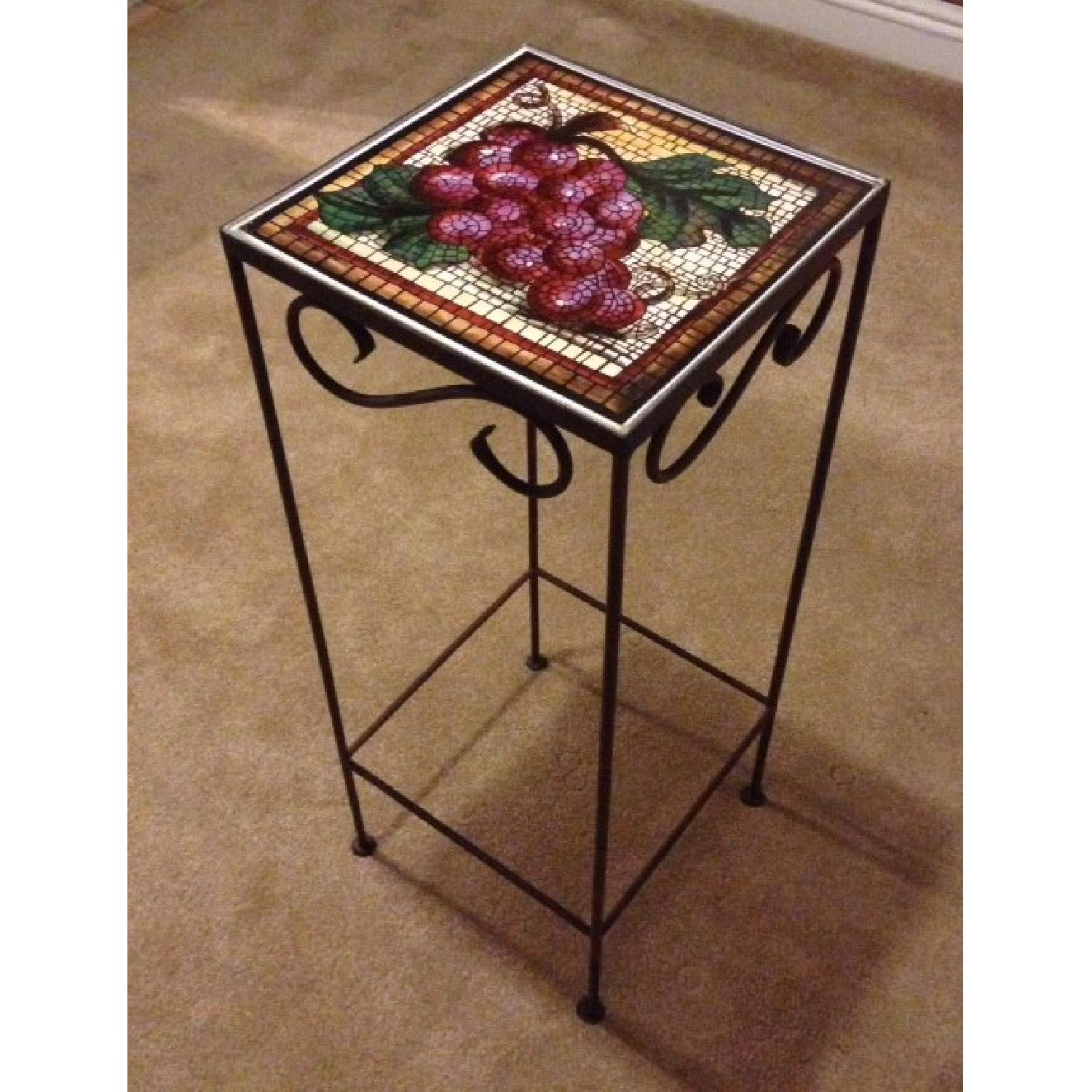 Tuscan Tile Accent Table - image-1