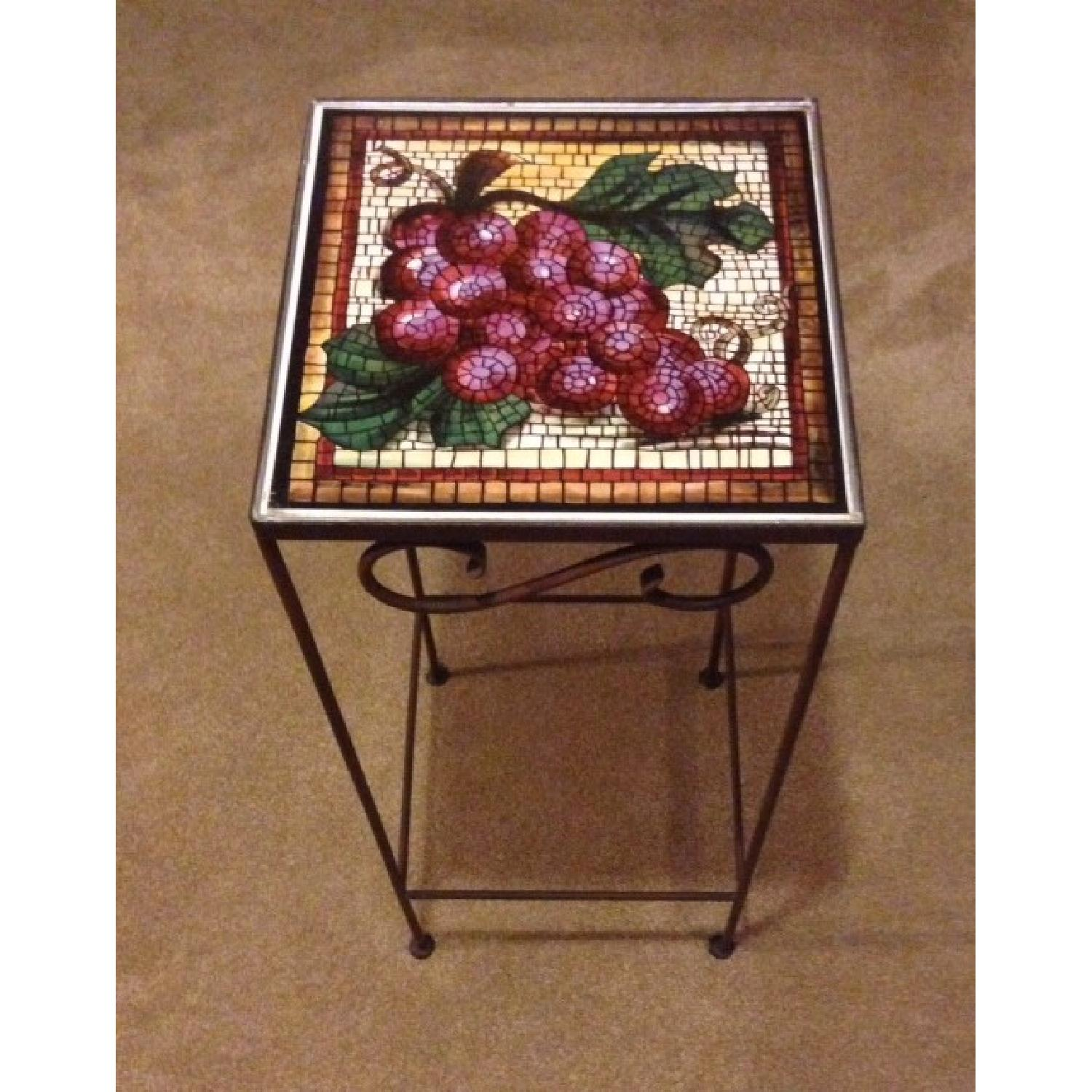 Tuscan Tile Accent Table - image-2