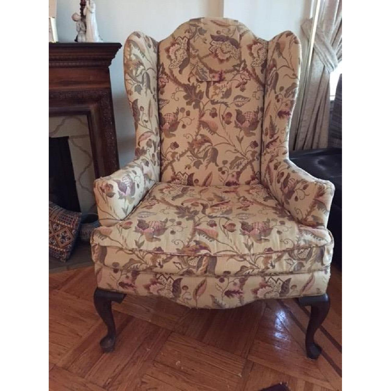 Ethan Allen Queen Anne Chair- Pair - image-1