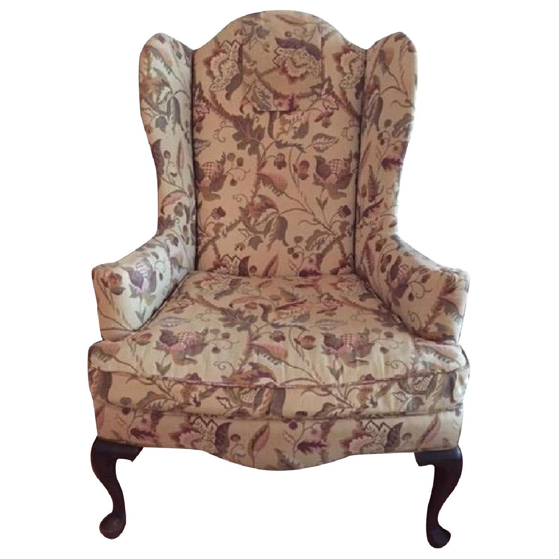 Ethan Allen Queen Anne Chair- Pair - image-0
