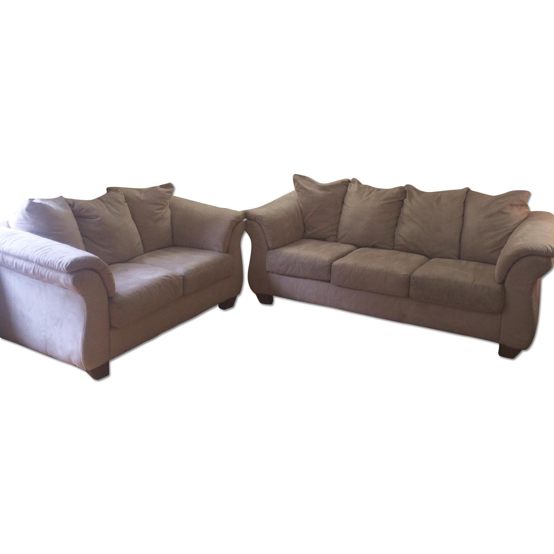 Ashley Furniture Darcy Sofa & Loveseat Set - image-1