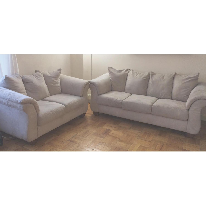 Ashley Furniture Darcy Sofa & Loveseat Set - image-2