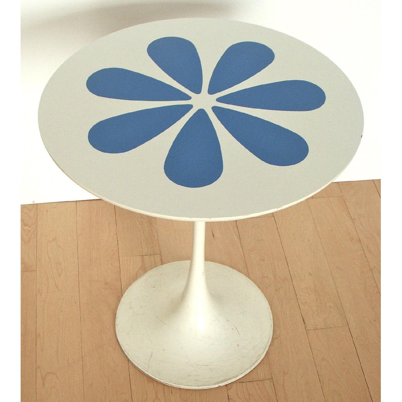 Mid Century Modern Knoll Saarinen Tulip Style Table - image-3